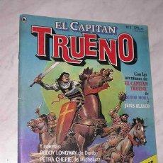 Tebeos: EL CAPITÁN TRUENO Nº 1. EL REGRESO. BRUGUERA, 1986. LOS MITOS DE CTHULHU DE LOVECRAFT POR MAROTO. ++. Lote 57926409