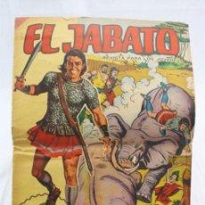 Tebeos: CÓMIC EL JABATO - ÁLBUM GIGANTE Nº 18. ¡COMBATE DE TITANES! - ED. BRUGUERA, AÑO 1967. Lote 57965042