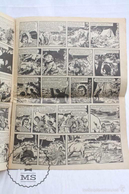 Tebeos: Cómic El Jabato - Álbum Gigante Nº 18. ¡Combate de Titanes! - Ed. Bruguera, Año 1967 - Foto 3 - 57965042