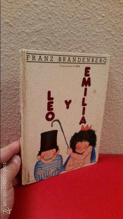 CUADERNILLO LIBRO ESCUELA LECTURA FRANZ BRANDERBERG LEO Y EMILIA BRUGUERA Nº 5 EL COLUMPIO 1982 (Tebeos y Comics - Bruguera - Cuadernillos Varios)