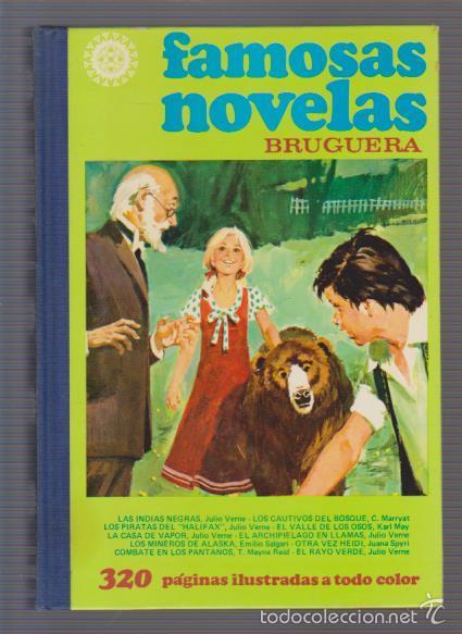 FAMOSAS NOVELAS - VOLUMEN XI - EDITORIAL BRUGUERA 1981 2ª EDICIÓN (Tebeos y Comics - Bruguera - Otros)