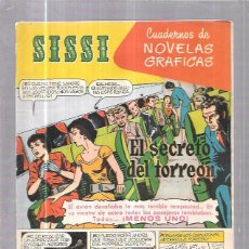 Tebeos: COMIC SISSI. CUADERNOS DE NOVELAS GRAFICAS. EL SECRETO DE TORREÓN. Nº21. Lote 57990773
