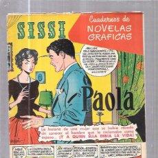 Tebeos: COMIC SISSI. CUADERNOS DE NOVELAS GRAFICAS. PAOLA. Nº28. Lote 57990806