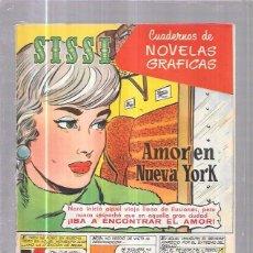 Tebeos: COMIC SISSI. CUADERNOS DE NOVELAS GRAFICAS. AMOR EN NUEVA YORK. Nº30. Lote 57990831