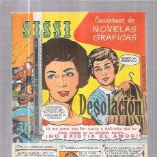 Tebeos: COMIC SISSI. CUADERNOS DE NOVELAS GRAFICAS. DESOLACIÓN. Nº31. Lote 57990838