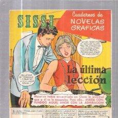 Tebeos: COMIC SISSI. CUADERNOS DE NOVELAS GRAFICAS. LA ULTIMA LECCIÓN. Nº33. Lote 57990848