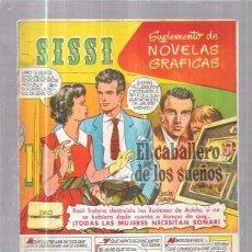 Tebeos: COMIC SISSI. CUADERNOS DE NOVELAS GRAFICAS. EL CABALLERO DE LOS SUEÑOS. Nº39. Lote 57990892