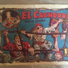 Tebeos: EL CACHORRO, TRAS EL TESORO.. Lote 58006009