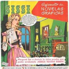 Tebeos: SISSI. SUPLEMENTO DE NOVELAS GRAFICAS. LA HERENCIA. Nº48. REVERSO: STAR KAMBER.. Lote 58007090