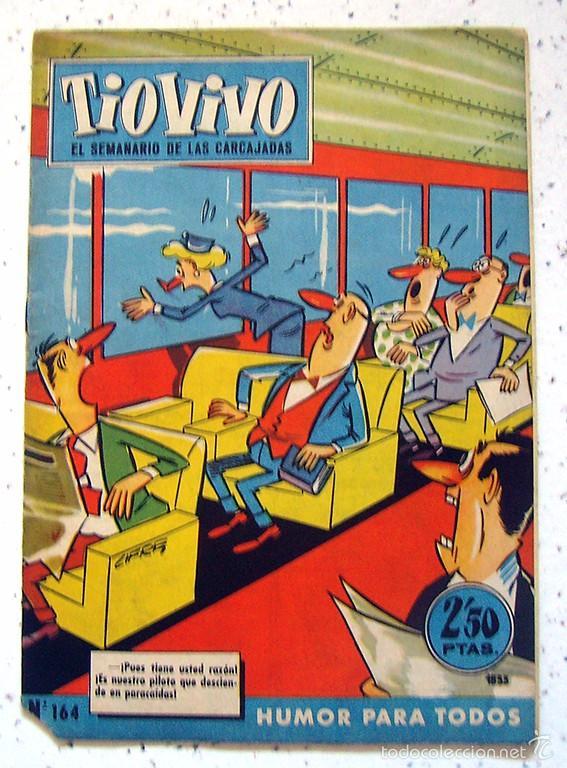 REVISTA SEMANAL . TIO VIVO . PRIMERA EPOCA . NUMERO 164 . AÑO 1960 (Tebeos y Comics - Bruguera - Tio Vivo)