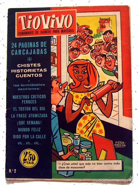 REVISTA SEMANAL . TIO VIVO . PRIMERA EPOCA . NUMERO 2 . AÑO 1958 (Tebeos y Comics - Bruguera - Tio Vivo)