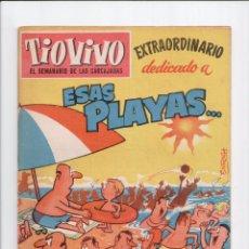 BDs: TIO VIVO Nº 108 EXTRAORDINARIO -ESAS PLAYAS- CRISOL 1957. Lote 58072355