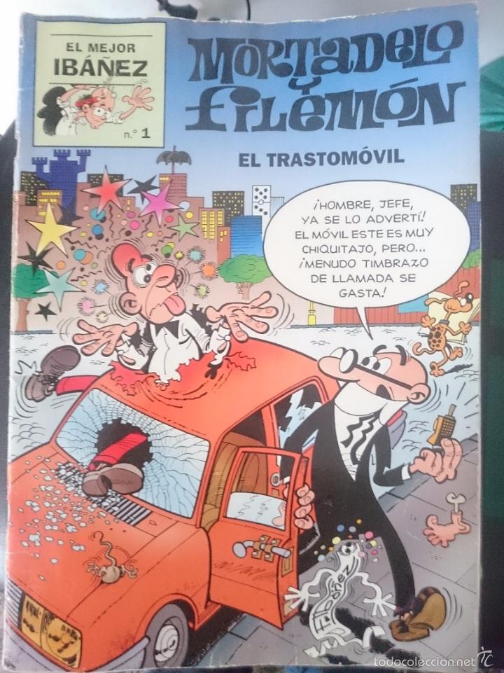 MORTADELO Y FILEMON EL MEJOR IBAÑEZ - EL TRASTOMOVIL - EL MEJOR IBAÑEZ N 1 (Tebeos y Comics - Bruguera - Ole)