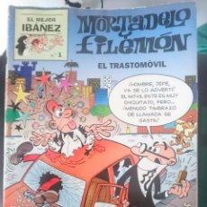 Tebeos: MORTADELO Y FILEMON EL MEJOR IBAÑEZ - EL TRASTOMOVIL - EL MEJOR IBAÑEZ N 1. Lote 58086725