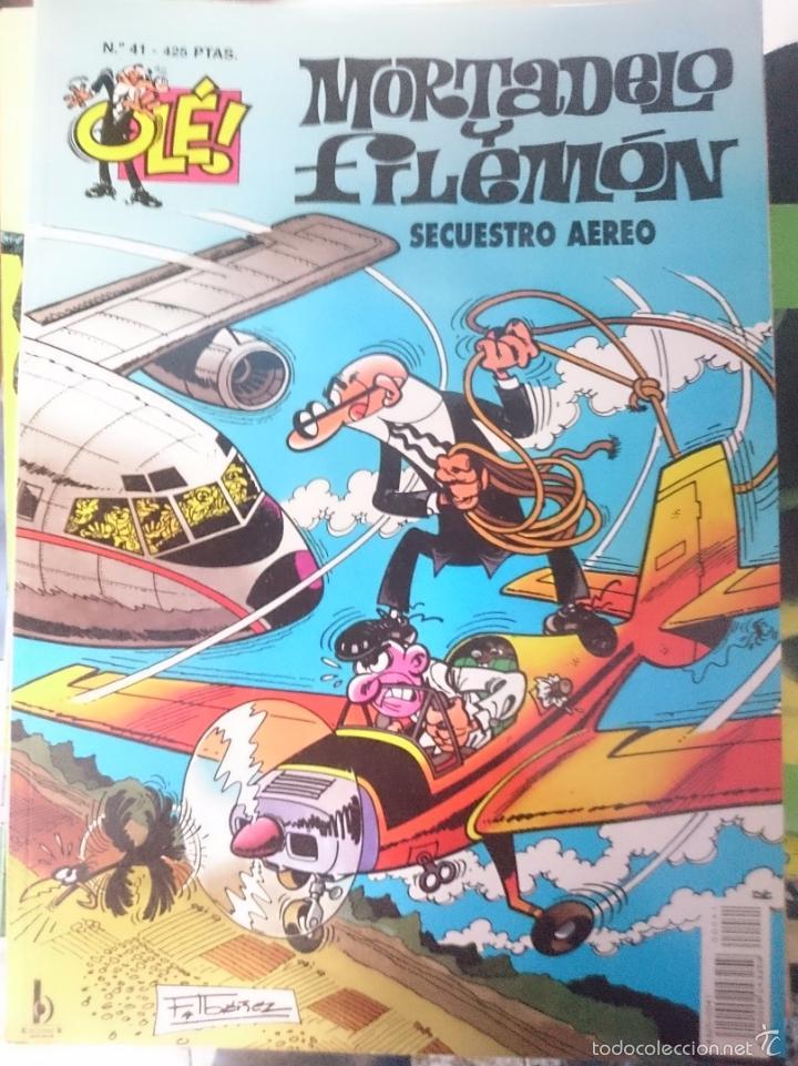 MORTADELO Y FILEMON - N 41 - SECUESTRO AEREO (Tebeos y Comics - Bruguera - Ole)