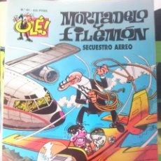 Tebeos: MORTADELO Y FILEMON - N 41 - SECUESTRO AEREO. Lote 58086754