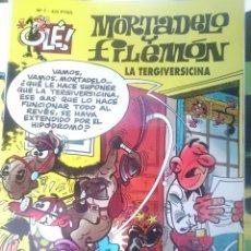 Tebeos: MORTADELO Y FILEMON - N 7 - LA TERGIVERSICINA --REFM1E4. Lote 58086771