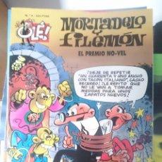 Tebeos: MORTADELO Y FILEMON - N 4 - EL PREMIO NO-VEL --REFM1E4. Lote 58086776