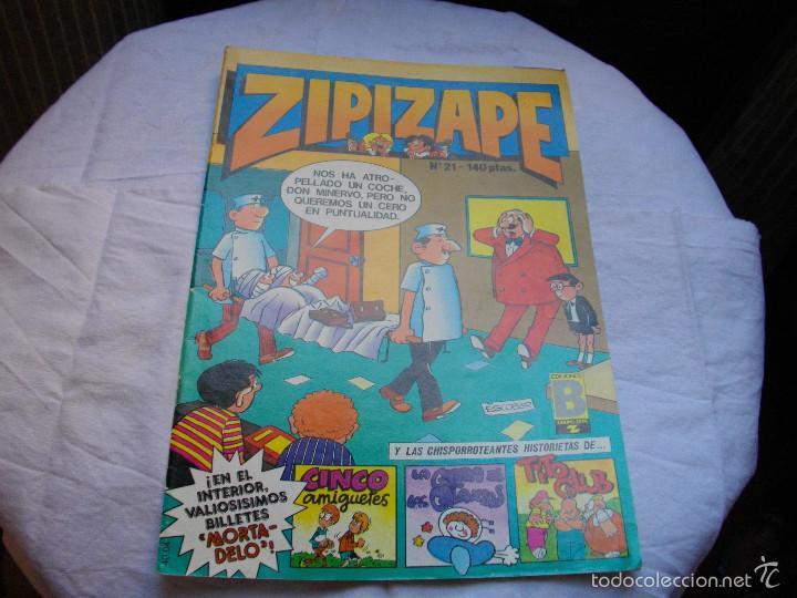 COMICS - ZIPI Y ZAPE - Nº 21 - VER FOTOS - MIRAR TODOS MIS LOTES DE TEBEOS (Tebeos y Comics - Bruguera - Otros)