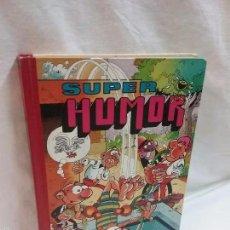 Tebeos: SUPER HUMOR N° 52 LII - BOTONES SACARINO - MORTADELO FILEMON - BRUGUERA - PRIMERA EDICIÓN AÑO 1986. Lote 58161564