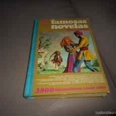 Tebeos: FAMOSAS NOVELAS VOLUMEN XII. 2ª EDICIÓN BRUGUERA 1979.. Lote 58176585