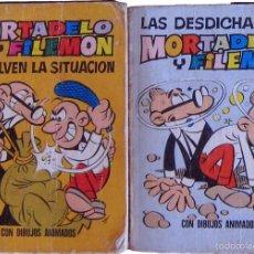 Tebeos: MINI INFANCIA - NUMEROS 91 Y 92 - MORTADELO Y FILEMON - BRUGUERA 1971 - 1ª EDICION. Lote 58183681