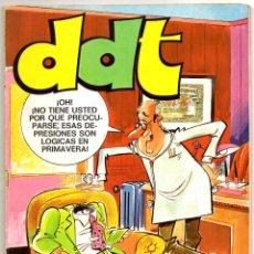 Tebeos: DDT EXTRA PRIMAVERA (BRUGUERA 1973) CON ELODIE D'AVRAY Y BRUNO BRAZIL.. Lote 58218660