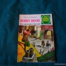 Tebeos: NORMAN R. STINNET, ROBIN HOOD. BRUGUERA 34, 1971. Lote 58267488