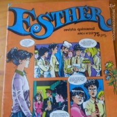 Tebeos: ESTHER REVISTA Nº 22 - INCLUYE POSTER. Lote 58277039