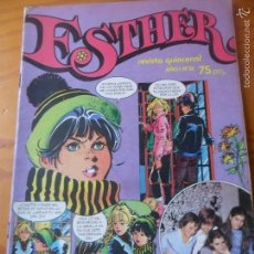 Tebeos: ESTHER REVISTA Nº 9 - INCLUYE POSTER. Lote 58277055