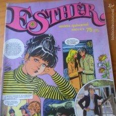 Tebeos: ESTHER REVISTA Nº 4 ---- INCLUYE POSTER, EL PUMA. Lote 58277149