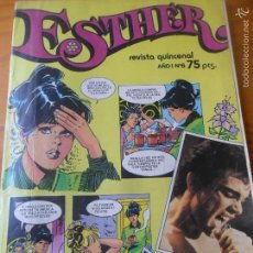 Tebeos: ESTHER REVISTA Nº 6 ---- INCLUYE POSTER, PAUL LAND. Lote 58277179