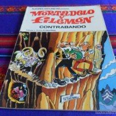 Tebeos: ALEGRES HISTORIETAS 5 MORTADELO, CONTRABANDO. BRUGUERA 1ª ED. 1983. REGALO 3 LOS AGENTES DE LA TIA.. Lote 58298736