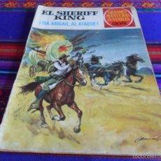 Tebeos: SHERIFF KING Nº 68 TÍA ABIGAIL, AL ATAQUE. BRUGUERA 20 PTS. 1975. GRANDES AVENTURAS JUVENILES.. Lote 58299147