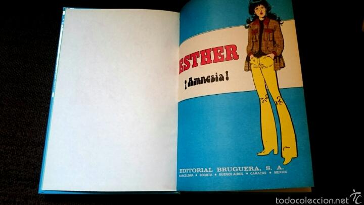 Tebeos: FAMOSAS NOVELAS SERIE AZUL CON ESTHER Y SU MUNDO 3 EDICIÓN 1985 - Foto 7 - 58324976