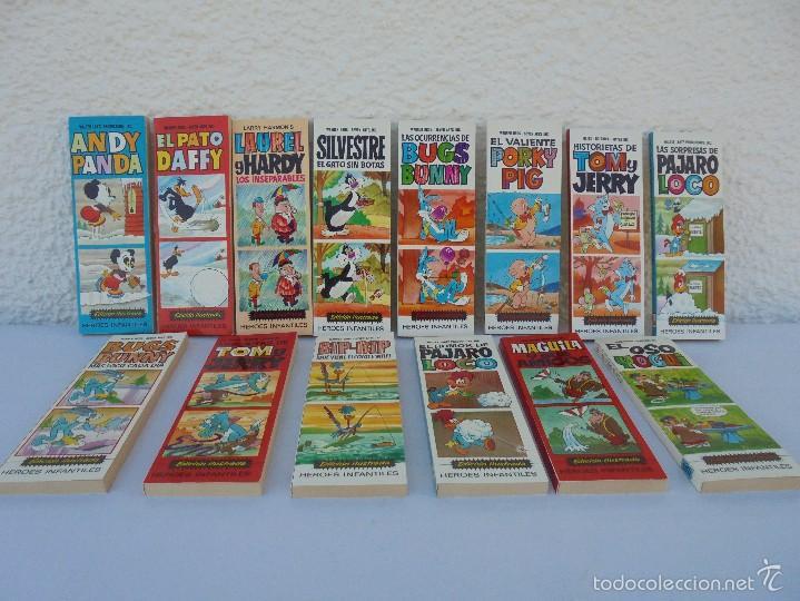 HEROES INFANTILES EDICION ILUSTRADA. TODOS PRIMERA EDICION 1968-69. 14 NUMEROS. TODOS EN BUEN ESTADO (Tebeos y Comics - Bruguera - Otros)