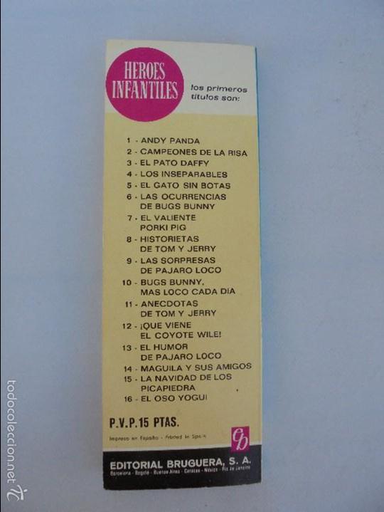 Tebeos: HEROES INFANTILES EDICION ILUSTRADA. TODOS PRIMERA EDICION 1968-69. 14 NUMEROS. TODOS EN BUEN ESTADO - Foto 10 - 58338941