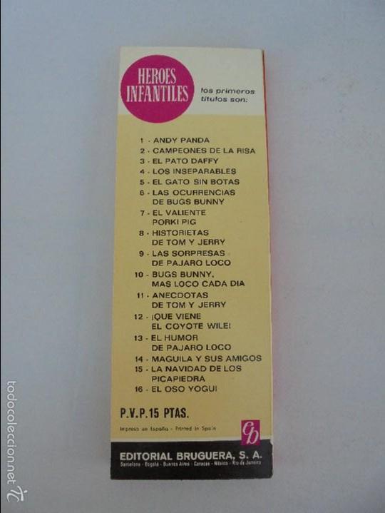 Tebeos: HEROES INFANTILES EDICION ILUSTRADA. TODOS PRIMERA EDICION 1968-69. 14 NUMEROS. TODOS EN BUEN ESTADO - Foto 14 - 58338941