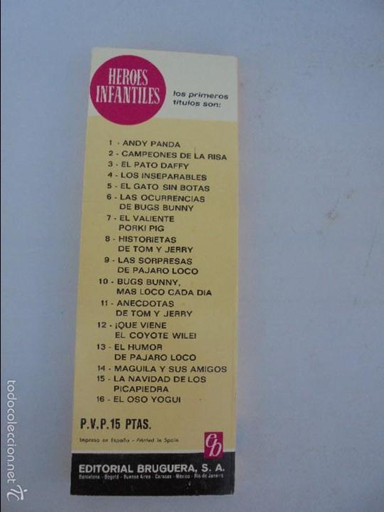 Tebeos: HEROES INFANTILES EDICION ILUSTRADA. TODOS PRIMERA EDICION 1968-69. 14 NUMEROS. TODOS EN BUEN ESTADO - Foto 18 - 58338941