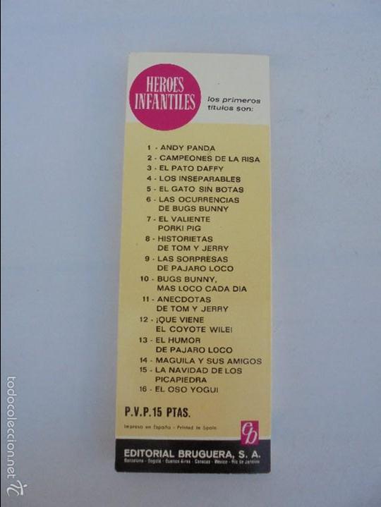 Tebeos: HEROES INFANTILES EDICION ILUSTRADA. TODOS PRIMERA EDICION 1968-69. 14 NUMEROS. TODOS EN BUEN ESTADO - Foto 30 - 58338941