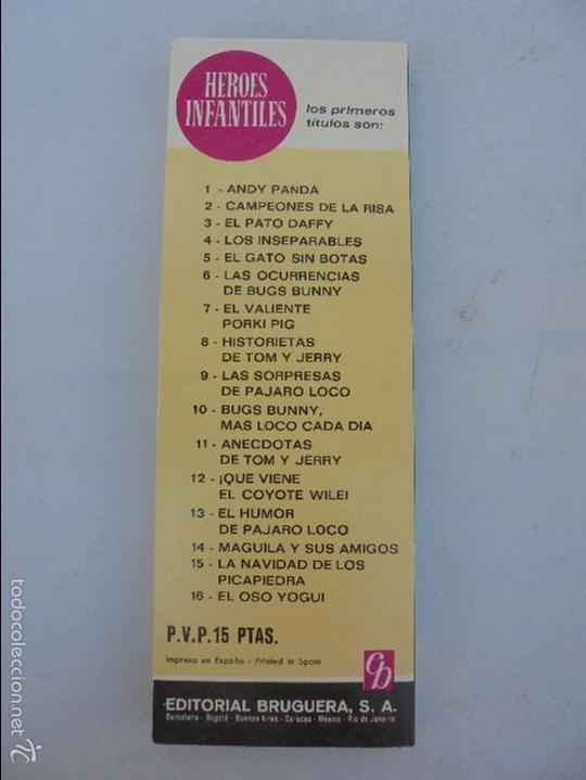 Tebeos: HEROES INFANTILES EDICION ILUSTRADA. TODOS PRIMERA EDICION 1968-69. 14 NUMEROS. TODOS EN BUEN ESTADO - Foto 38 - 58338941