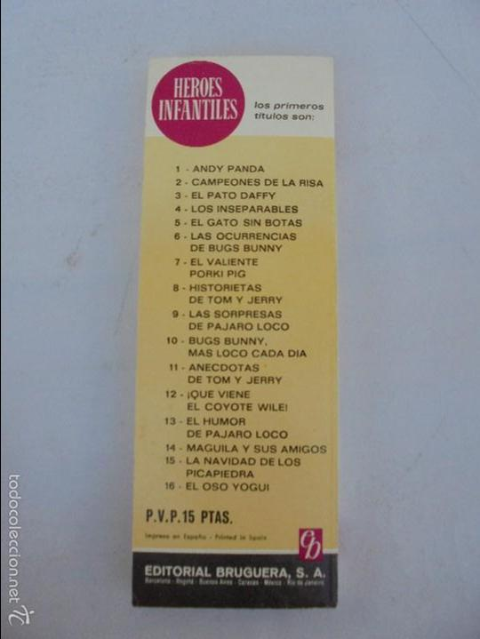 Tebeos: HEROES INFANTILES EDICION ILUSTRADA. TODOS PRIMERA EDICION 1968-69. 14 NUMEROS. TODOS EN BUEN ESTADO - Foto 50 - 58338941