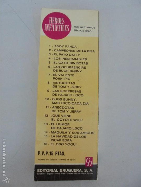 Tebeos: HEROES INFANTILES EDICION ILUSTRADA. TODOS PRIMERA EDICION 1968-69. 14 NUMEROS. TODOS EN BUEN ESTADO - Foto 62 - 58338941