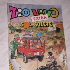 Tebeos: TIO VIVO EXTRA Nº 61. SOL, SOLETE. BOTONES SACARINO, LA PANDA, FACUNDO, SIR TIM O'THEO, ATARI. 1984.. Lote 215441865