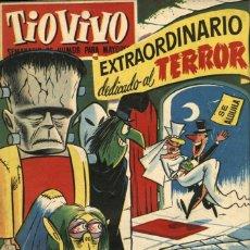 Tebeos: TIO VIVO EXTRAORDINARIO DEDICADO AL TERROR (DER, 1958). Lote 58371323