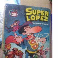 Tebeos: SUPER LOPEZ - EL SUPERGRUPO --COLECCION OLE -SIN LAS GRAPAS PERO COMPLETO -VER FOTOS. Lote 58375358