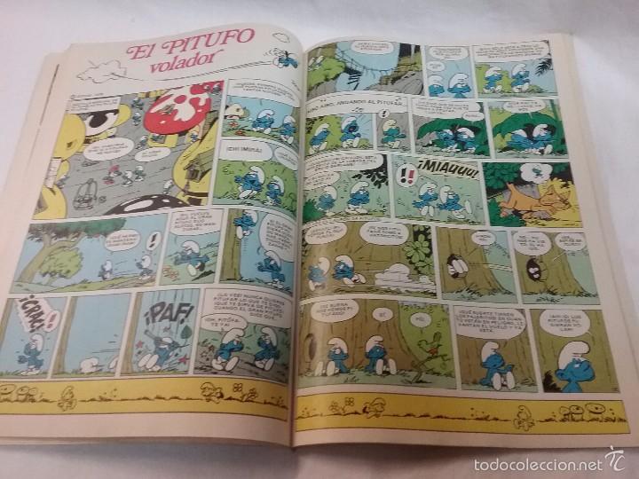 Tebeos: COLECCIÓN OLE - LOS PITUFOS , LOS PITUFOS OLÍMPICOS - N° 11 - EDITORIAL BRUGUERA - AÑO 1980 - Foto 3 - 58415134