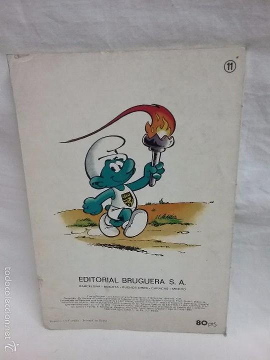 Tebeos: COLECCIÓN OLE - LOS PITUFOS , LOS PITUFOS OLÍMPICOS - N° 11 - EDITORIAL BRUGUERA - AÑO 1980 - Foto 2 - 58415134