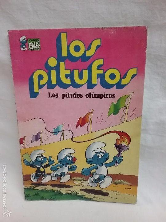 COLECCIÓN OLE - LOS PITUFOS , LOS PITUFOS OLÍMPICOS - N° 11 - EDITORIAL BRUGUERA - AÑO 1980 (Tebeos y Comics - Bruguera - Ole)