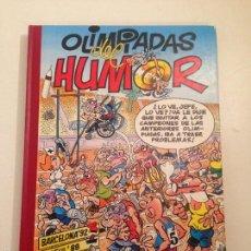 Tebeos: SUPER HUMOR MORTADELO Y FILEMON Nº 2. OLIMPIADAS DEL HUMOR. EDICIONES B 1ª EDICION 1993.. Lote 58453198